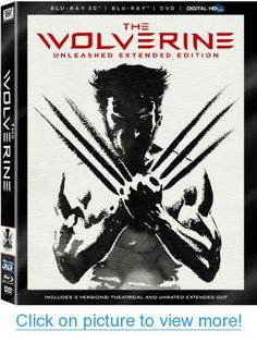 The Wolverine - Unleashed Extended Edition (Blu-ray 3D / Blu-Ray / DVD / DigitalHD + Digital Copy) #Wolverine #Unleashed #Extended #Edition #Blu_ray #3D #Blu_Ray #DVD #DigitalHD #Digital #Copy