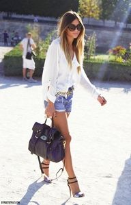 laid back summer look