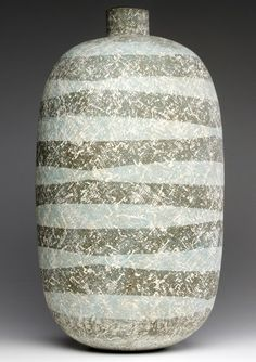 "Claude Conover, ""Suhuy,"" large stoneware vase."