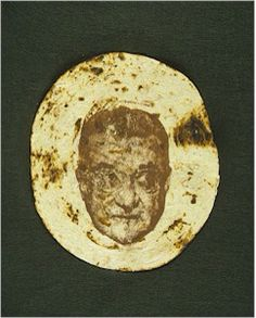 Walter O'Malley Tortilla. It's a miracle! Photo: the Baseball Reliquary