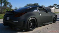 350 Z... matte black of course ;) My next step.