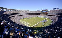 Qualcomm Stadium, San Diego Chargers : NFL stadiums that should be blown up