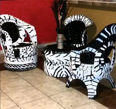 Amazingly, there are a lot of DIY tire projects homemade that could really help at home. Tire Furniture, Garage Furniture, Car Part Furniture, Tire Seats, Tire Chairs, Tyres Recycle, Diy Recycle, Tire Table, Tire Art