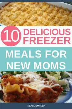 10 Yummy Freezer Meals For New Moms To Make Before Baby Arrives Need ideas for freezer meals for when baby comes? Look further, this collection of freezer meals for new moms is your new best friend! Vegetarian Freezer Meals, Healthy Freezer Meals, Make Ahead Meals, Freezer Cooking, Easy Meals, Freezer Recipes, Meals To Freeze, Meals That Freeze Well, Budget Freezer Meals