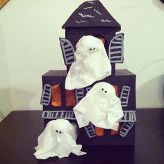 Kleenex box haunted house