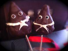 Cake pops de papones