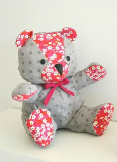 Teddy Bear - frenesie et moi - DIY