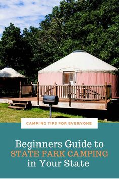 Beginner tips to plan a state park camping trip including types of camping you will find at state parks and how to reserve your campsite. #CTE Rv Camping Tips, Camping For Beginners, Camping Glamping, Rv Tips, Camping Ideas, Dinosaur Valley State Park, Parks Department, Amazing Destinations, Travel Destinations