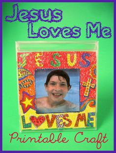 Jesus Loves Me Printable Craft