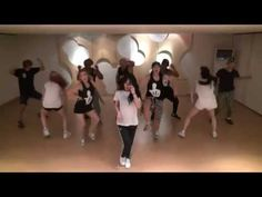 Hyuna Red mirrored Practice dance - YouTube