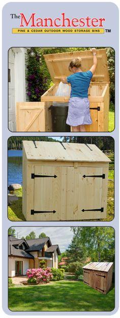 Manchester Pine Wood Storage Bin
