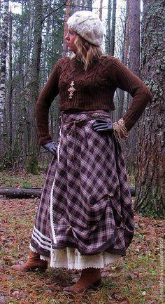 """Юбки ручной работы. Ярмарка Мастеров - ручная работа. Купить Длинная юбка бохо """"Котильон"""". Handmade. Юбка, богемный стиль"""
