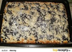 Eastern European Recipes, Czech Recipes, Sweet Cakes, No Bake Desserts, Banana Bread, Deserts, Food And Drink, Cooking Recipes, Yummy Food