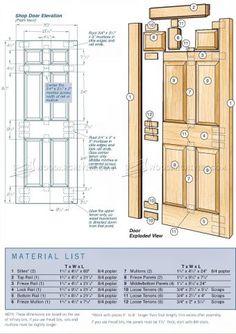 #1289 Making Door - Door Construction Techniques