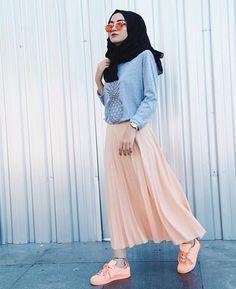 รูปภาพ hijab, muslim, and hijabfashion