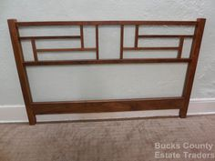 Thomas Thos Moser Bench Made Walnut King Size Bed Headboard | eBay