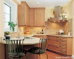 Дизайн интерьера маленькой кухни (фото)