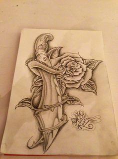 Rose knife