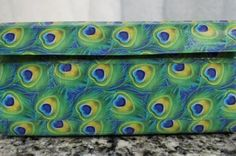Duct Tape Wallet (Clutch) - Peacock, $18.      We are also on Etsy at:  www.junorduck.etsy.com.
