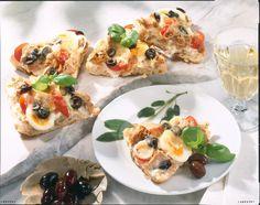 Unser beliebtes Rezept für Ciabatta-Pizza und mehr als 55.000 weitere kostenlose Rezepte auf LECKER.de.