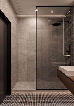 100 Bathroom Shower Design Ideas You'll Love A collection of 15 Exquisite Modern Shower Designs For Your Modern with which we hope to give you inspiration and ideas. Bathroom Inspiration, Simple Bathroom, Bathroom Interior, Bathroom Shower Design, Small Bathroom, Bathroom Inspiration Modern, Kitchen Design Small, Trendy Bathroom, Bathroom Layout