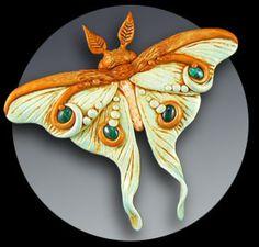 * polymer clay jewelry tutorial pendant/brooch/barrette By Christi Friesen on http://www.cforiginals.net/downloads.html