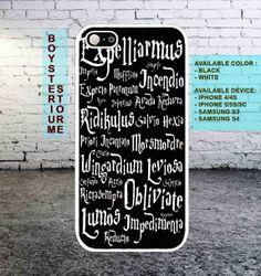 Harry Potter Spells phone case