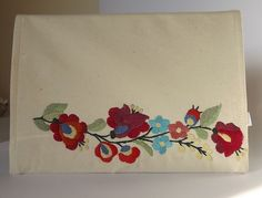 FREE SHIPPING Calendar Cover with Kalocsa by Mariannasboutique, $40.00
