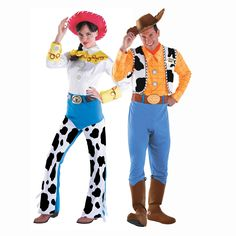 Toy Story Woody & Jessie Couples Costumes