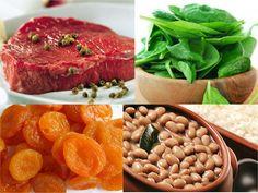 Alimentos ricos em ferro: tabela de alimentos para anemia