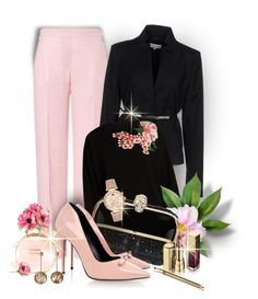 """""""Untitled #828"""" by mlka ❤ liked on Polyvore featuring ESCADA, Patrizia Pepe, Dolce&Gabbana, Alexander McQueen, Raoul, Chanel, Pamela Love and Michael Kors"""
