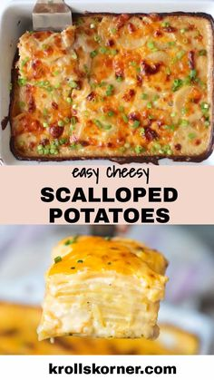 Easy Scalloped Potatoes (VIDEO)