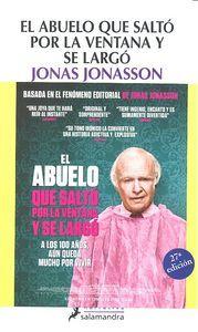 ABUELO QUE SALTO POR LA VENTANA Y SE LARGO -  9788498384161 - www.libreriarioebro.es