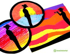 Anzac Day Silhouette Art Templates Teaching Resource: A set of three Anzac Day silhouette templates for Anzac Day art activities.