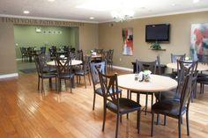 Dining room area at Clarity Way Rehab