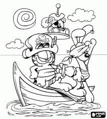find this pin and more on garfield garfield coloring pages - Garfield Halloween Coloring Pages
