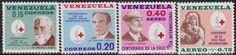 Venezuela Red Cross Stamps.