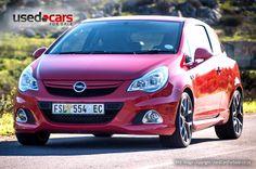 Opel Corsa OPC. It's a mighty fine hot hatch!