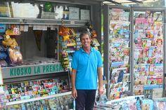 El quiosco La Prensa del parque Santa Catalina cumple el año que viene 60 años de historia. Fundado en 1957 por…