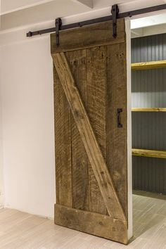 DIY:: Sliding Barn Door U0026 Hardware  Easier Than You Think, U0026 All For Less  Than $100 ! | Woodworking + DIY | Pinterest | Barn Door Hardware, Barn Doors  And ...