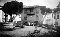 1910 Icod de los Vinos - Plaza La Pila