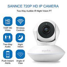 Size : Line LYJCS C/ámara de vigilancia inal/ámbrica WiFi HD visi/ón Nocturna Inteligente peque/ño Monitor de tel/éfono m/óvil de Red Remoto Interior del hogar