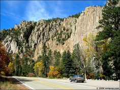 The Palisades, between Cimaron and Red River, NM