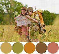 moonrise kingdom color palette - Google Search