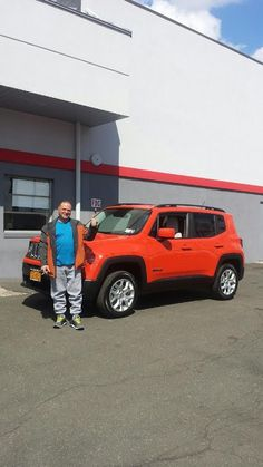 Congrats To Jerome On His 2015 Jeep Renegade From The Chrysler Jeep Dodge  Ram Family!
