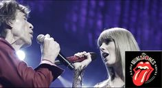 The Rolling Stones & Taylor Swift - As Tears Go By - Live in Chicago - who saw this coming?
