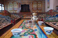 Tea cultures around the world. Ganzi, Tibetan Plateau: known for their butter tea