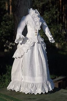 Fabulous antique fashion doll  dress, French antique doll | Dolls & Bears, Dolls, Clothes & Accessories | eBay!