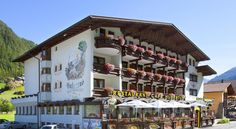 Hotel Hubertus Sölden Only a few steps from the ski lifts and cable cars, Hotel Hubertus is located right in the centre of Sölden. It has a spa area and offers free parking.  All rooms have cable TV and a bathroom with bathrobes and a hairdryer. Most have a balcony.