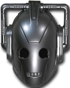 Doctor Who - Cyberman Mask (Doctor Who - BBC Series) source: superherostuff.com